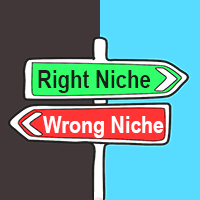 choosing the right niche-tips-advice-pointers