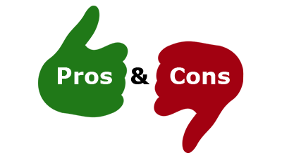 pros and cons,pros,cons