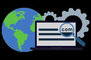 domain-name-laptop-globe