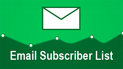 email subscriber list