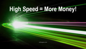 high speed more money,website load times,website speed
