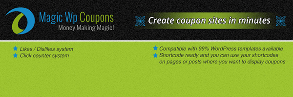 magic wp coupons,wordpress coupons